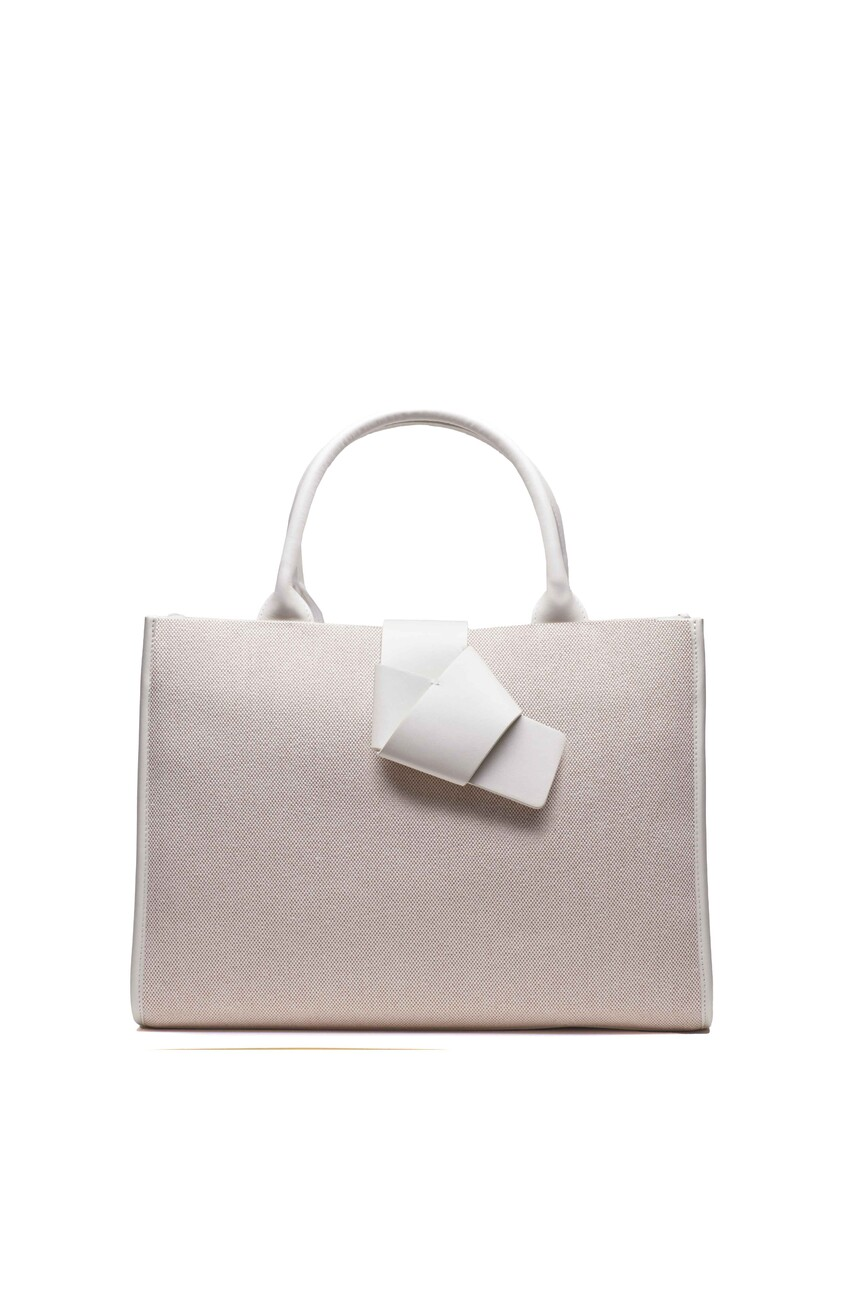 Alyson Tote White Sugar